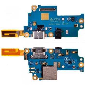 Нижняя плата Google Pixel XL (G-2PW2200) с разъемом зарядки и микрофоном