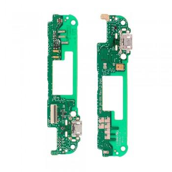 Нижняя плата HTC Desire 826 с разъемом зарядки и микрофоном