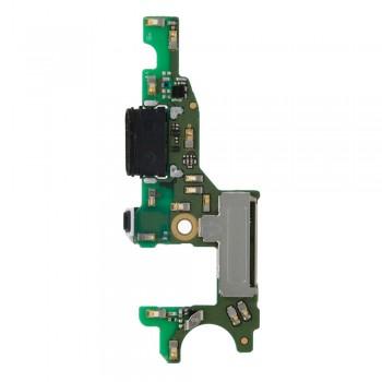 Нижняя плата Huawei Honor V9 с разъемом зарядки и микрофоном