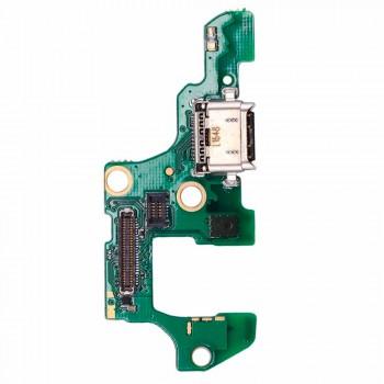 Нижняя плата Huawei Nova 2 (PIC-L29) с разъемом зарядки и микрофоном
