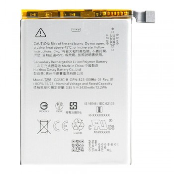 Аккумулятор Google G013C-B для Google Pixel 3 XL (3430 mAh)