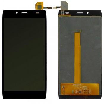 Дисплей Alcatel 6032X One Touch Idol Alpha Slate с тачскрином (Black)