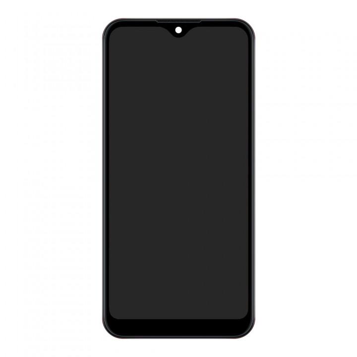 Дисплей Samsung A015 Galaxy A01 (2020) с тачскрином (Black) Service Original в рамке