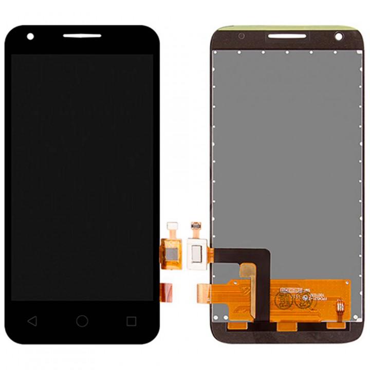 Дисплей Alcatel 4027D One Touch Pixi с тачскрином (Black)