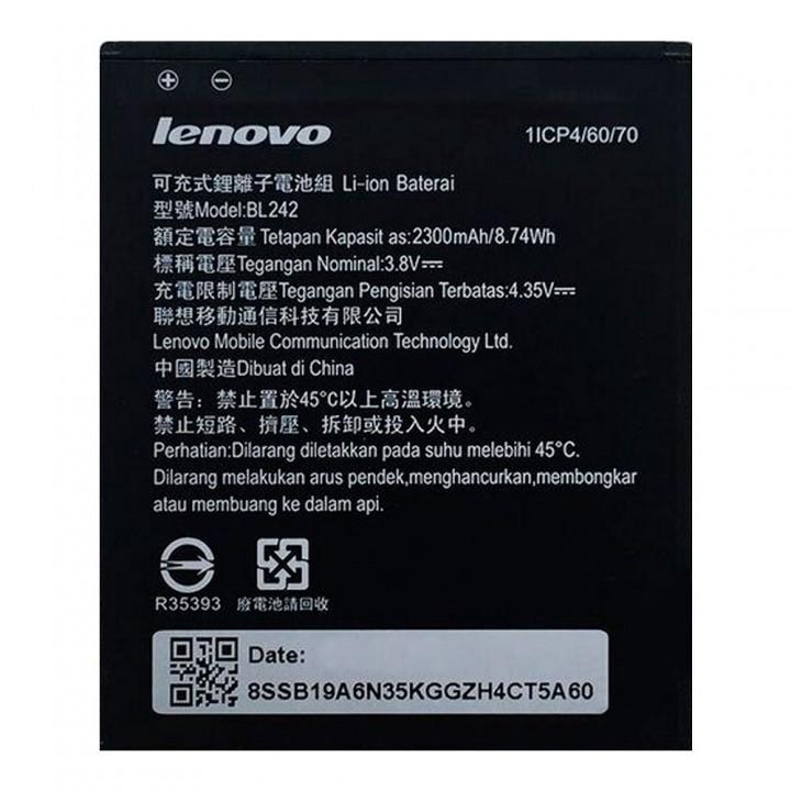 Аккумулятор Lenovo BL242 для Lenovo A2020 / A6000 / A6010 / K3 (2300 mAh)