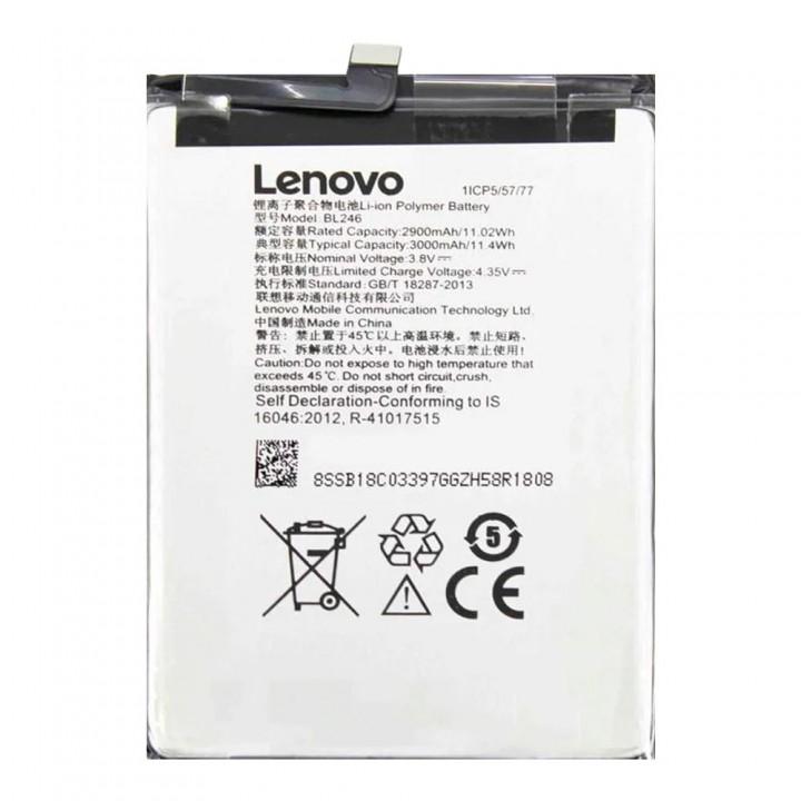 Аккумулятор Lenovo BL246 для Lenovo Vibe Shot Z90-7 / Vibe Max (3000 mAh)