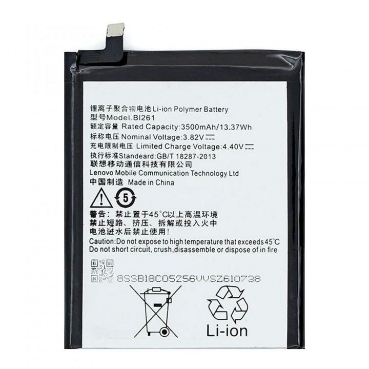 Аккумулятор Lenovo BL261 для Lenovo K5 Note (3500 mAh)