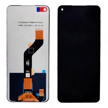 Дисплей Tecno Spark 6 (KE7) / Camon 16 SE / Pova с тачскрином (Black)