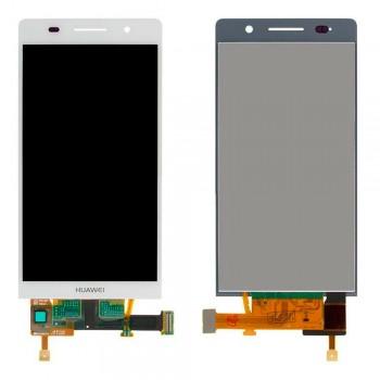 Дисплей Huawei Ascend P6-U06 с тачскрином (White)