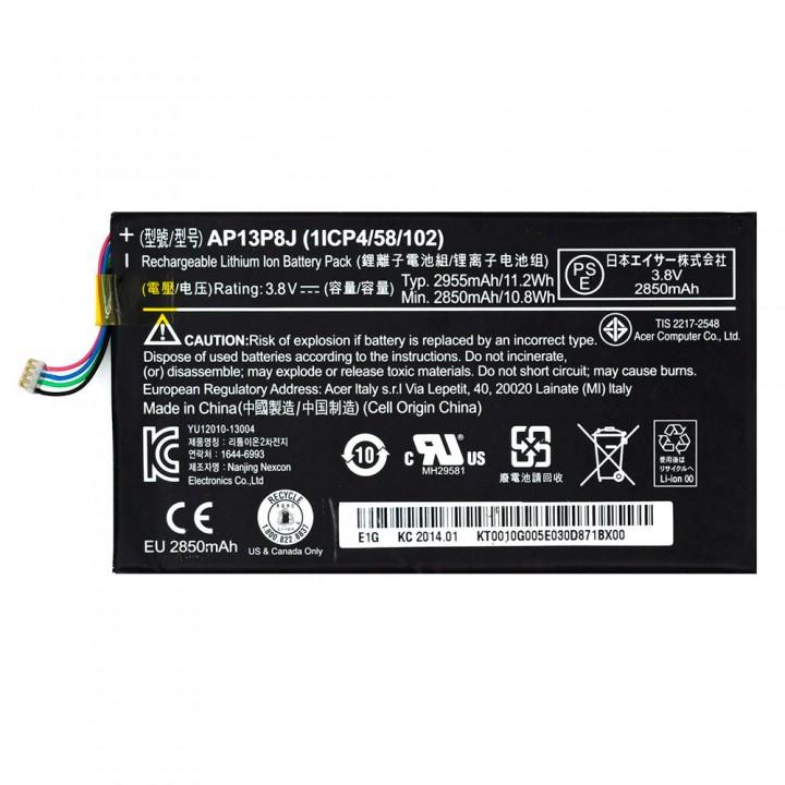Аккумулятор Acer AP13P8J / AP13PFJ для Acer Iconia B1-720 / B1-721 (2955 mAh)