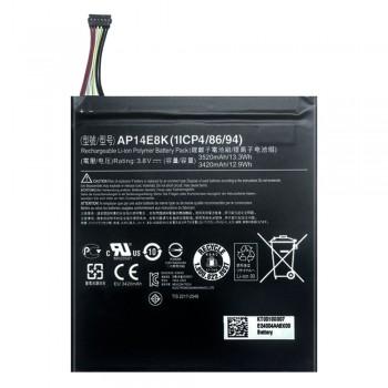 Аккумулятор Acer AP14E8K для Acer Iconia One 7 B1-750 (3520 mAh)