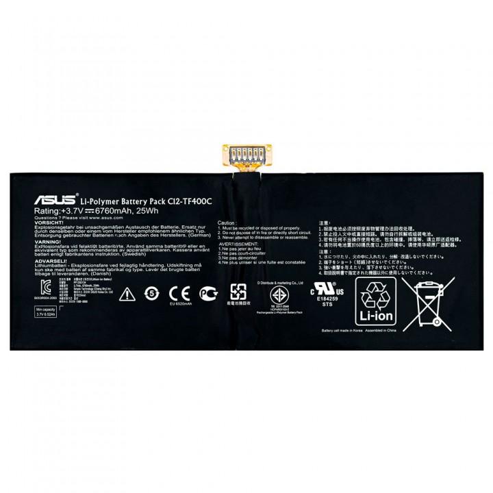 Аккумулятор Asus C12-TF400C (6760 mAh)
