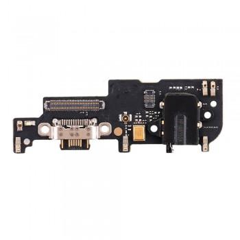 Нижняя плата Meizu 15 с разъемом зарядки и микрофоном