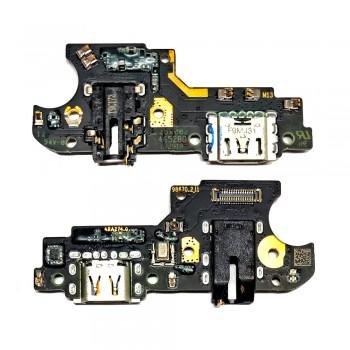 Нижняя плата Oppo Realme 5 с разъемом зарядки и микрофоном (Original)