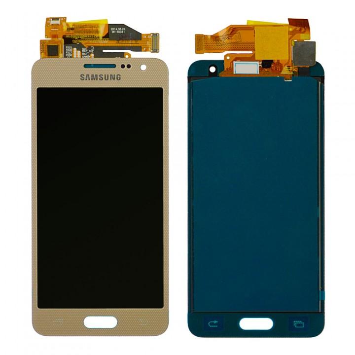 Дисплей Samsung A300 Galaxy A3 с тачскрином (Gold) TFT