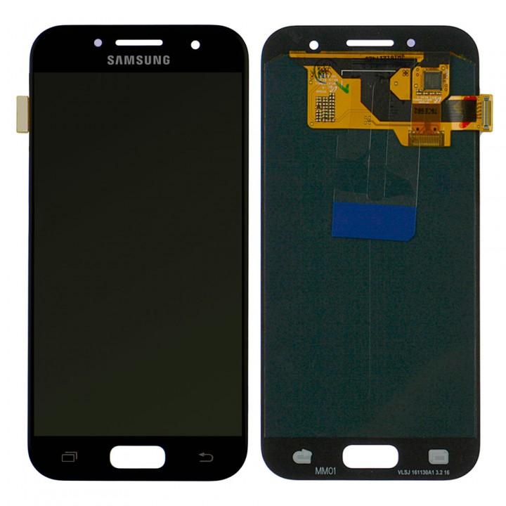 Дисплей Samsung A320F Galaxy A3 (2017) с тачскрином (Black) Service Original