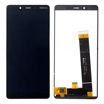 Дисплей Nokia 1 Plus с тачскрином (Black)
