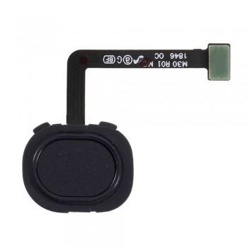 Сканер отпечатка пальца для Samsung M305 Galaxy M30 (Black) (Original PRC)