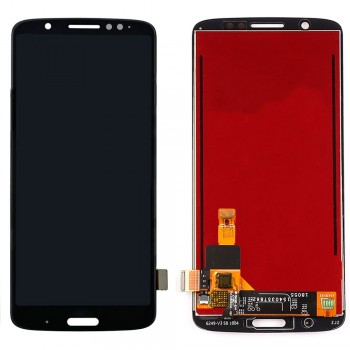 Дисплей Motorola XT1926 Moto G6 Plus с тачскрином (Black)