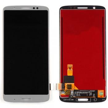 Дисплей Motorola XT1926 Moto G6 Plus с тачскрином (Silver)