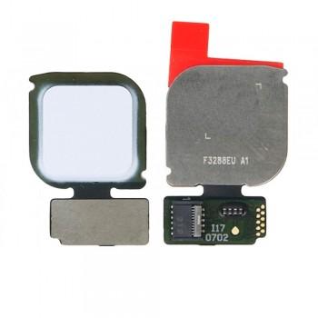 Сканер отпечатка пальца для Huawei P10 Lite (White)