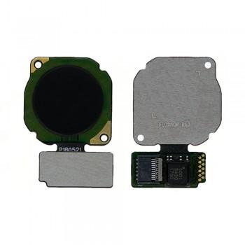 Сканер отпечатка пальца для Huawei P20 Lite / P Smart Plus / Nova 3e (Black)