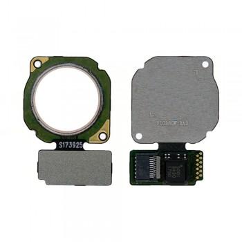 Сканер отпечатка пальца для Huawei P20 Lite / P Smart Plus / Nova 3e (White)