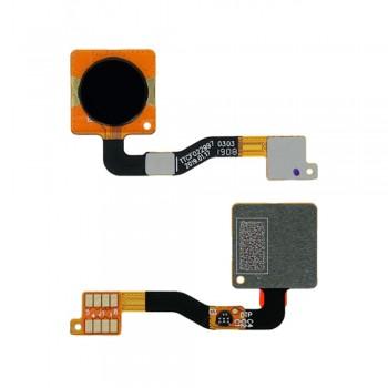 Сканер отпечатка пальца для Nokia 3.2 (Black) Original