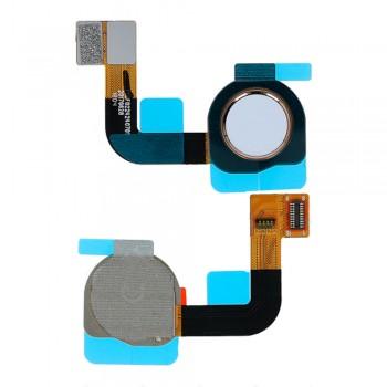 Сканер отпечатка пальца для Nokia 7 Plus (White) Original