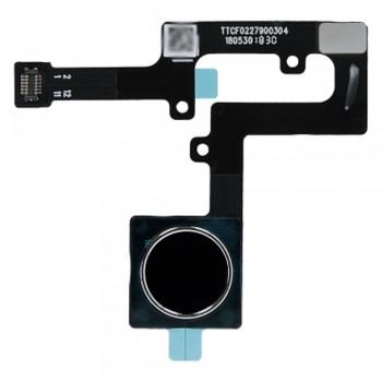 Сканер отпечатка пальца для Nokia 8.1 / Nokia X7 (Black) Original
