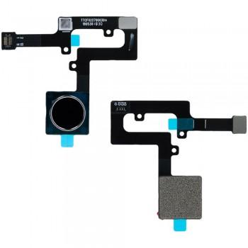 Сканер отпечатка пальца для Nokia 8.1 / Nokia X7 (Dark blue) Original