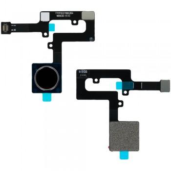 Сканер отпечатка пальца для Nokia 8.1 / Nokia X7 (Iron) Original