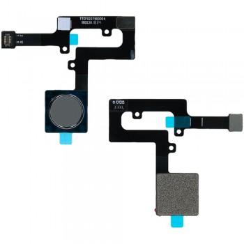 Сканер отпечатка пальца для Nokia 8.1 / Nokia X7 (Steel) Original
