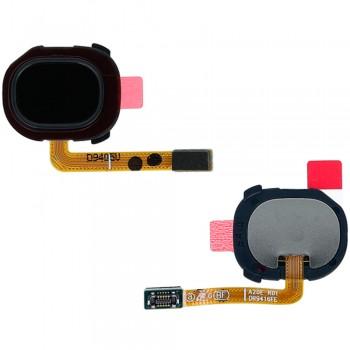 Сканер отпечатка пальца для Samsung A202 Galaxy A20e (Black)