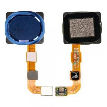 Сканер отпечатка пальца для Samsung A207 Galaxy A20s (Blue)