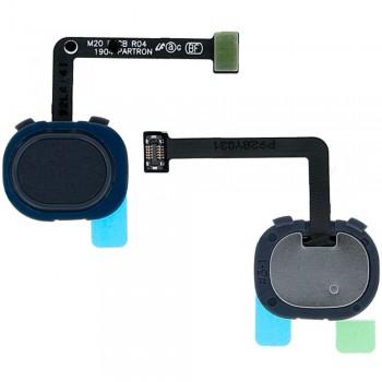 Сканер отпечатка пальца для Samsung M205 Galaxy M20 / M305 Galaxy M30 (Black)