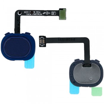 Сканер отпечатка пальца для Samsung M205 Galaxy M20 / M305 Galaxy M30 (Blue)