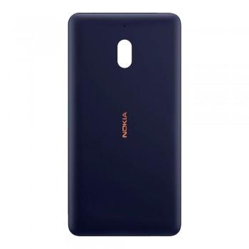 Задняя крышка для Nokia 2.1 (Blue-copper) Original