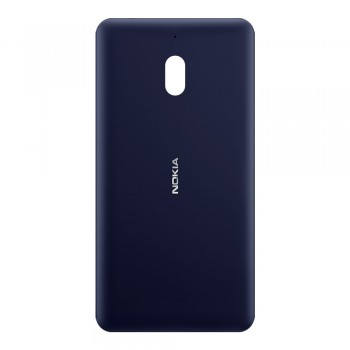 Задняя крышка для Nokia 2.1 (Blue-silver) Original