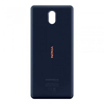 Задняя крышка для Nokia 3.1 (Blue-copper) Original