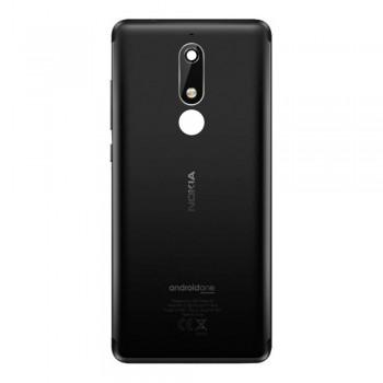 Задняя крышка для Nokia 5.1 (Black) Original