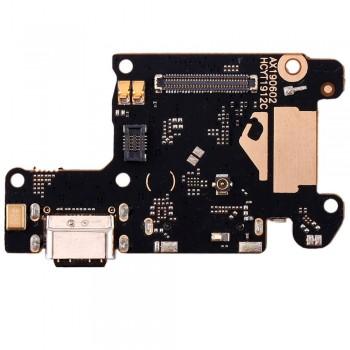 Нижняя плата Xiaomi Mi 9T с разъемом зарядки и микрофоном