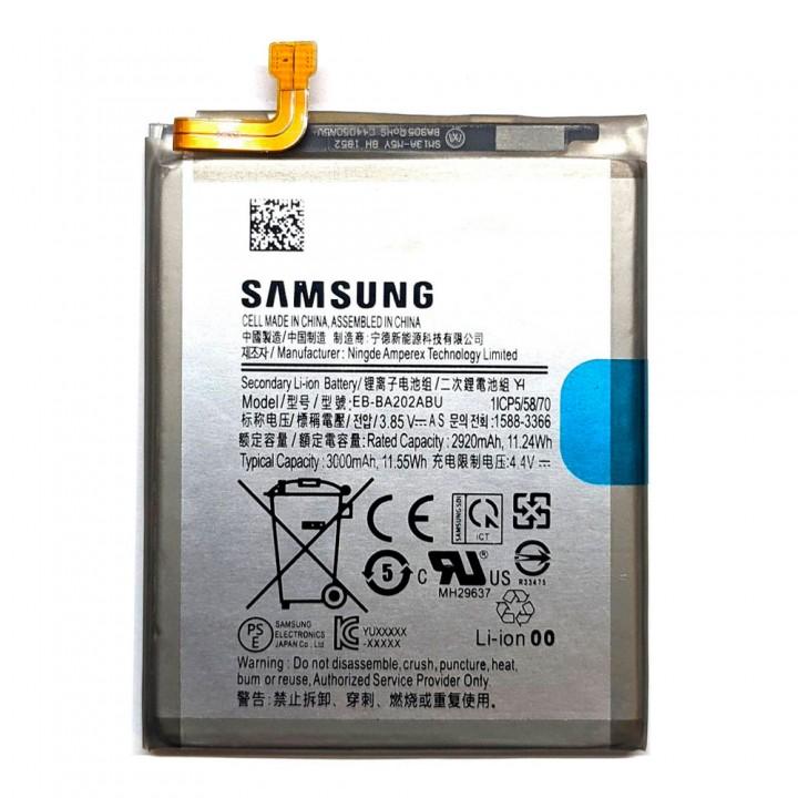 Аккумулятор EB-BA202ABU для Samsung A202 Galaxy A20e (3000 mAh)