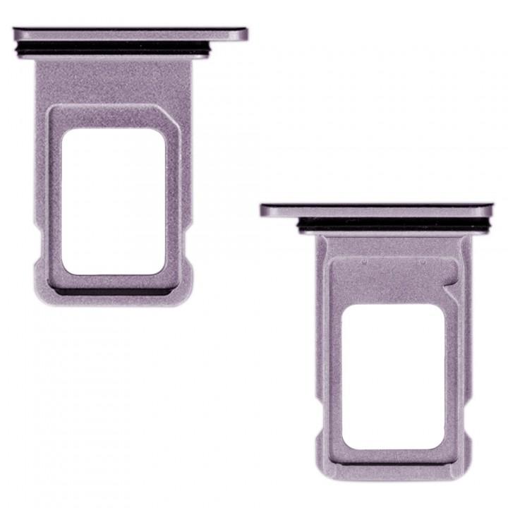 Держатель SIM-карты для Apple iPhone 11 Dual Sim (Purple) (Original PRC)