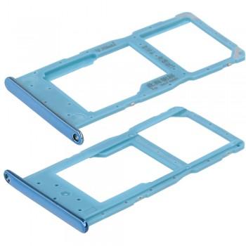Держатель SIM-карты для Huawei Honor 10 Lite (Sapphire blue) (Original PRC)