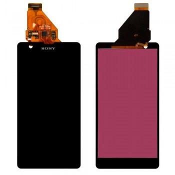 Дисплей Sony C5502 M36h Xperia ZR с тачскрином (Black) Original PRC