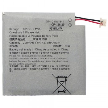 Аккумулятор Asus C11N1541 для Asus WI502QF ZenWatch 2 (290 mAh) (Original PRC)