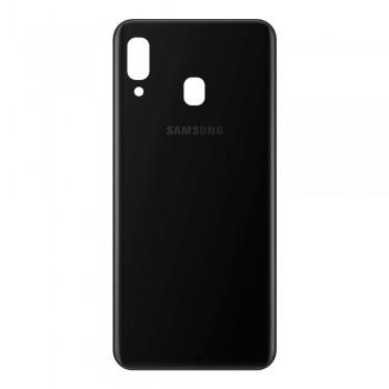 Задняя крышка для Samsung A205 Galaxy A20 (2019) (Black)