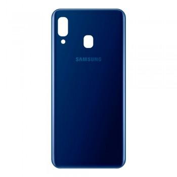 Задняя крышка для Samsung A205 Galaxy A20 (2019) (Blue)
